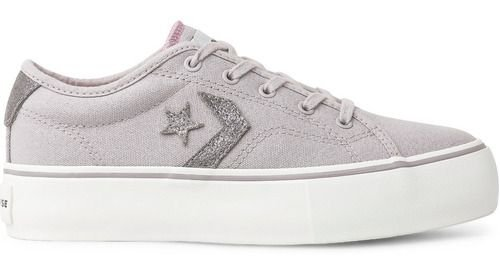 Tênis Converse Star Replay Plataforma Ox Lilás Co02920002