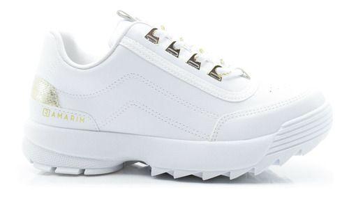 Tênis Ramarim Flatform Feminino Branco 2075204