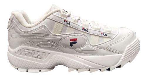 Tênis Fila D-formation Branco/vermelho - Original