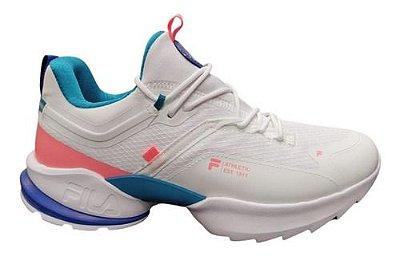 Tênis Fila Fit Trainer Branco/rosa - Original