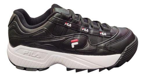 Tênis Fila D-formation Preto/vermelho - Original