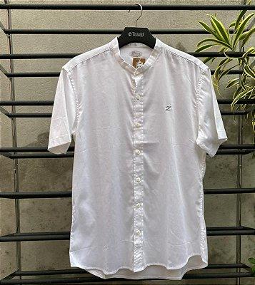 Camisa Social Zip Off Gola Padre Branco 35605