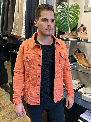 Jaqueta Austin Jeans Orange Premium Colors 15258