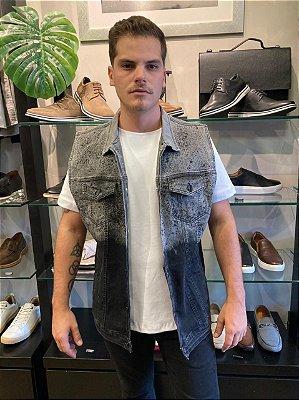 Colete Austin Degradê Black Jeans 15119