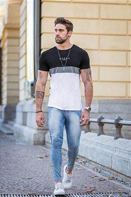 Calça Jeans Arêdu Skinny Free Lavagem Média