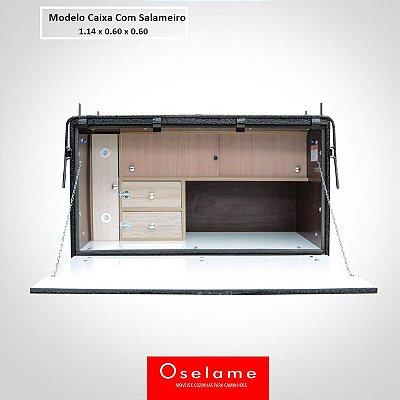 Caixa de cozinha salameiro