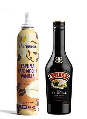 Kit Baileys & Mocha: Spray de Café Mocha & Vanilla + Licor Baileys