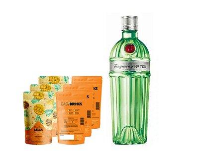 Kit Fruits&Tonic (G&T): Gin Tanqueray Ten + 15un Frutas Tropicais