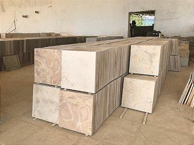 Limestone piso 50x50 bege