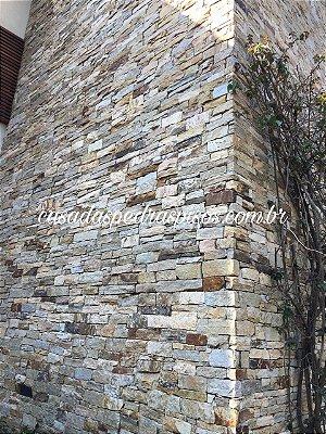 Filetão pedra madeira irregular