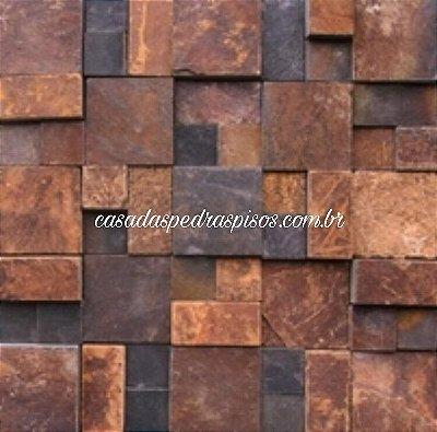 Mosaico Delicatto da pedra ferro placa de 30x30