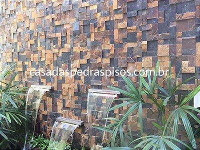 Pedra Ferro Mosaico imperador placa de 30x30