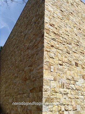 Pedra Madeira Savana serrada estilo tozetos