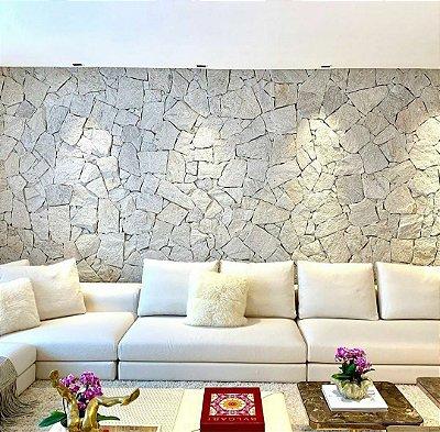 Pedra Savana branca extra tonelada