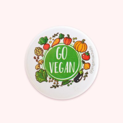 Botton Go Vegan