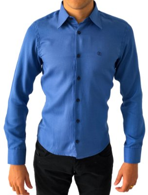 Camisa Social Slim Tecido Premium