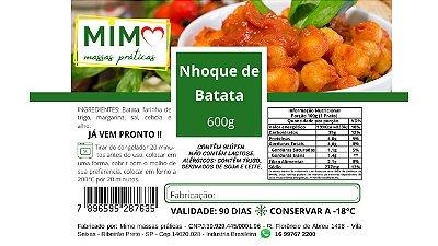 Etiqueta para alimentos - Colorida