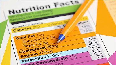 Diagnostico de Tabela Nutricional/Receita