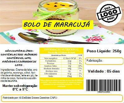 Impressão de Rótulo para alimentos - TAM 10X5