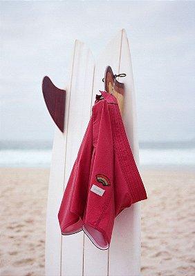 Le Surf Short Vermelho