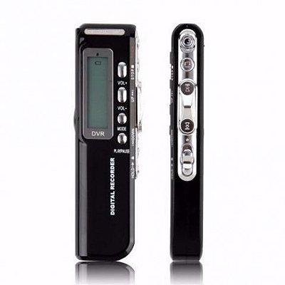 Mini Gravador De Áudio Voz Digital 8gb Mp3 Pendrive Usb