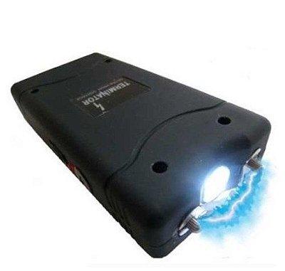 Arma Choque 99 Milhões Volts Taser Lanterna Tatica Aparelho
