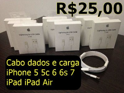 Cabo iPHONE DADOS E CARGA