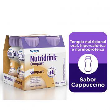NUTRIDRINK COMPACT SABOR CAPUCCINO 125ML C/4 UNID - DANONE