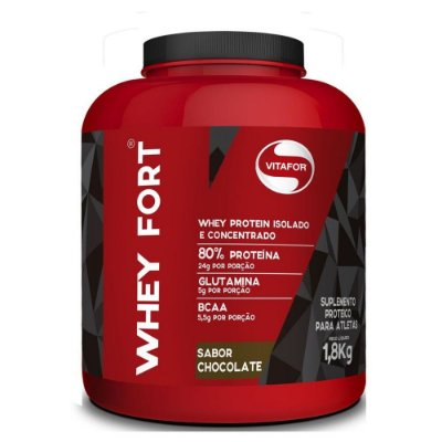 WHEY FORT SABOR CHOCOLATE C/1800G - VITAFOR