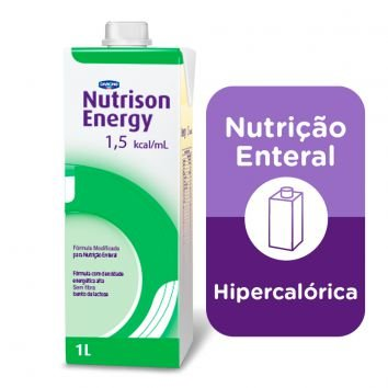 NUTRISON ENERGY 1.5 C/1000 ML SIST ABERTO - DANONE