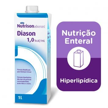NUTRISON ADVANCED DIASON C/1000 ML SIST ABERTO - DANONE