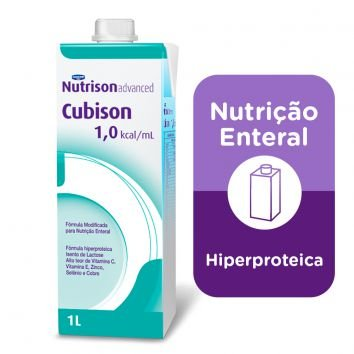NUTRISON ADVANCED CUBISON C/1000 ML SIST ABERTO - DANONE