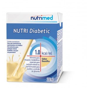 NUTRI DIABETIC BAUNILHA TP 200ML - NUTRIMED