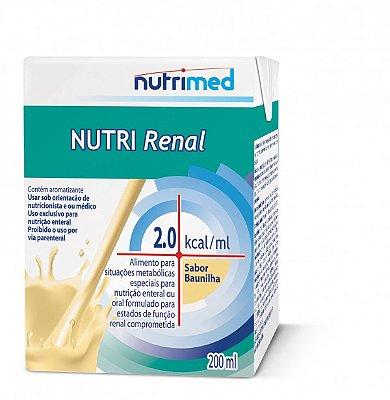 NUTRI RENAL 2.0  BAUNILHA TP 200ML - NUTRIMED