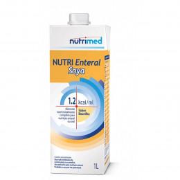 NUTRI ENTERAL SOYA 1.2 SABOR BAUNILHA C/1000 ML SIST ABERTO - NUTRIMED