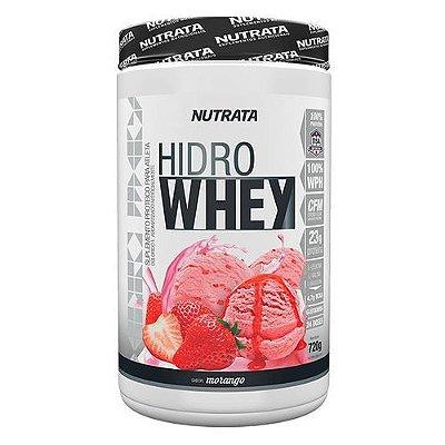 HIDRO WHEY SABOR MORANGO C/720G - NUTRATA