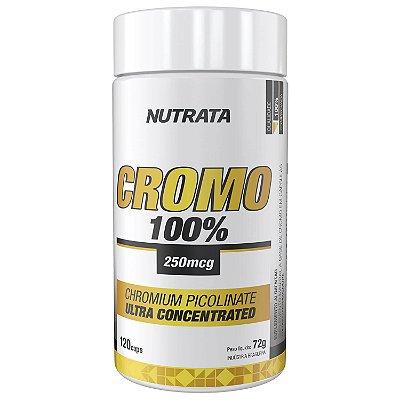 PICOLINATO DE CROMO 250MCG C/ 120 CAPS - NUTRATA