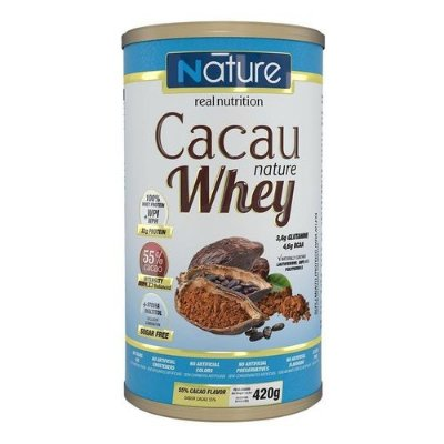 CACAU NATURE WHEY C/420G - NATURE