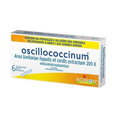 OSCILLOCOCCINUM C/6 TUBOS 1GR- BOIRON