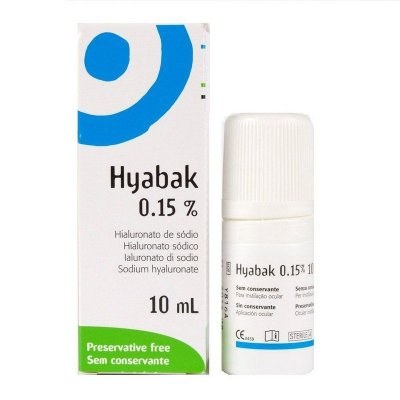 HYABAK 0,15% SOL OFT C/10ML- UNIAO QUIMICA