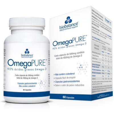OMEGA PURE 500MG C/60 CPS - BIOBALANCE