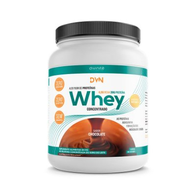 WHEY CONCENTRADO SABOR CHOCOLATE C/1020 GR - DIVINITE