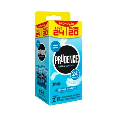 PRUDENCE ULTRA SENSIVEL PACK C/ 24 UNI