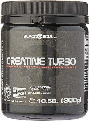 CREATINE TURBO 300G - BLACK SKULL