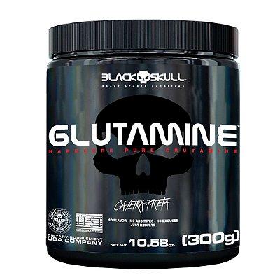 GLUTAMINE 300G CAVEIRA PRETA - BLACK SKULL