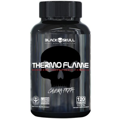 THERMO FLAME C/120 TABS - BLACK SKULL