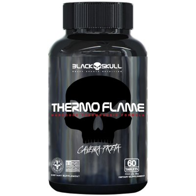 THERMO FLAME C/60 TABS - BLACK SKULL
