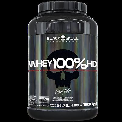 WHEY 100 HD BAUNILHA 900G - BLACK SKULL