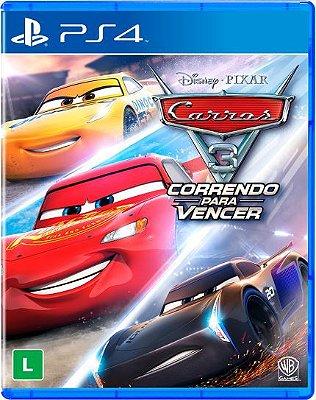 CARROS 3: CORRENDO PARA VENCER PS4