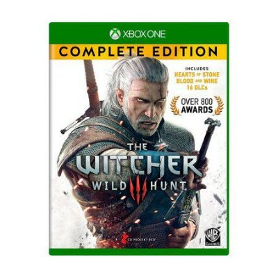THE WITCHER COMPLETE EDITION XBOX ONE USADO